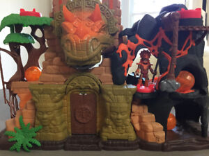 Ensemble Imaginext Forteresse Dino Fisher-Price Mattel