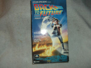 VHS Film Video Back to the Future et Jumanji et Miracle on 34th