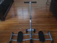 rosalie brown leg magic exercise machine in new cond