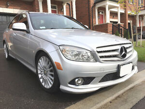 2009 Mercedes-Benz C-Class 4MATIC With--WARRANTY