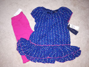 Brand new with tag girl 6t Tommy hilfiger 2piece set