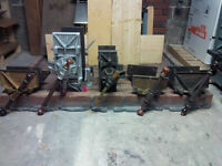 Vintage & Antique Woodworking Vises Vices Tools Emmert Etc...