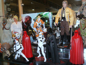 Huge Selection Of Current & Vintage Star Wars Collectibles