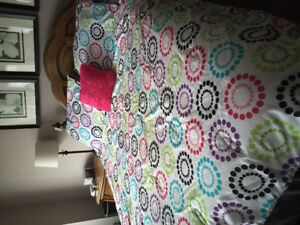 Girls double comforter set