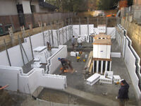 ICF Insulated Concrete Forms supply and install anywhere anytime