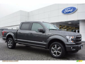 2015 or newer Ford F-150 SuperCrew Lariat Ecoboost Grey/Black