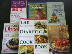 Group of 6 NEW Diabetes Books