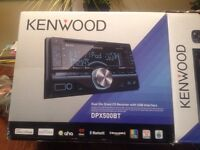 kenwood dual din stereo with Bluetooth plus mic