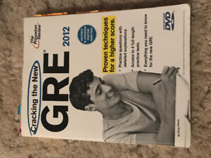 The Princeton Review: General GRE Study Guides (5)
