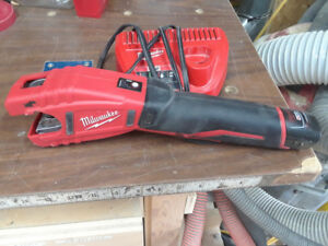 M12 tube cutter and saws all.