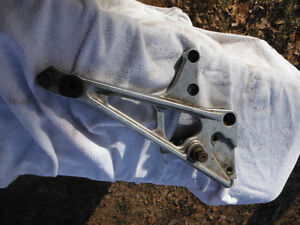 1983 CBX550 CBX550F MA6 Right  Foot Peg Brake pedal Mount PLATE