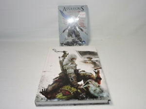 Assassins creed lll 3 ps3 game with official guide.