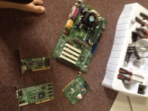 Old: CPU, Ram, Motherboard