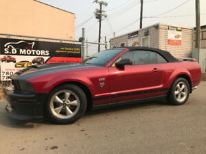 2009 FORD MUSTANG CONVERTIBLE HAS JUST 126324 KMS MODIFIED!