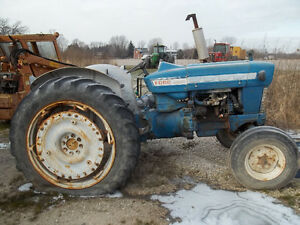 FORD 4000 TRACTOR RIMS