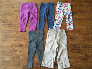 Very cute girls 2T size Jeans and Pants for $25 Oakville / Halton Region Toronto (GTA) image 3