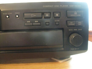 Sony  5 CD Stereo Component for Home ,Garage , Man cave $50.00 Cambridge Kitchener Area image 7
