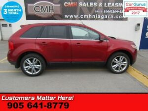 2014 Ford Edge Limited  AWD NAV PANO-ROOF LEATHER PWR-GATE