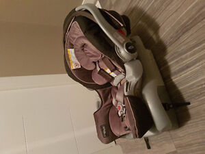 Graco Snuggle Connect 35 Car Seat with Base.