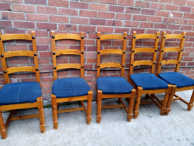 5 pine kitchen chairs for sale