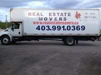 Local, long distance moves. Rates from $65/h. 403 991 0369
