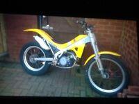 Gas gas 125 trial bike