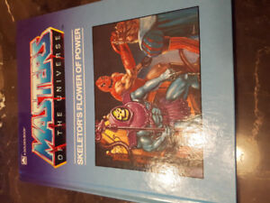 Masters of the Universe - Skeletor's Flower of Power Book