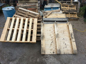 Free Pallets & Sheet Goods Cutoffs (OSB/Laminated Particle)