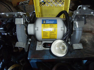 Bench Grinder never Used, $250.00 o.b.o with brand new 6'' Vise