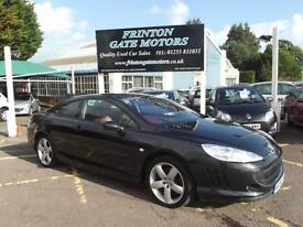 Peugeot 407 2.7HDi V6 GT Coupe ** DIESEL AUTOMATIC SAT NAV **