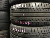 PartWorn tyres at affordable prices . Free fitting