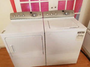G E. PROFIL WASHER AND DRYER for sale 180$ Each