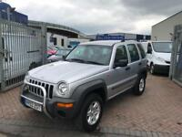2003 03 Jeep Cherokee 2.4 ( 145bhp ) 4X4 Sport IMMACULATE CAR SUPERB DRIVE MINT