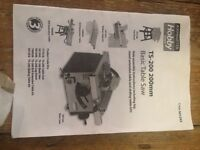 Table Saw TS 200 R/H extension table kit
