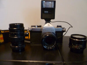 Pentax Camera and Lenses for Sale Kitchener / Waterloo Kitchener Area image 1
