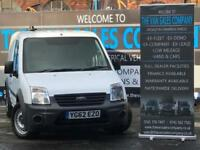 2012 62 FORD TRANSIT CONNECT 1.8 T200 LR 5D 74 BHP SWB PANEL VAN DIESEL