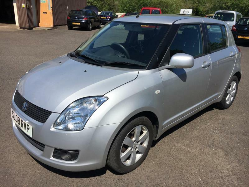 0808 suzuki swift glx 1 5 silver 5 door 31694mls mot april 2018 in galashiels scottish. Black Bedroom Furniture Sets. Home Design Ideas