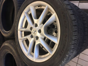 5x114.3 or 5x4.5 Nissan Infiniti Wheels With 245/45/18 Tires