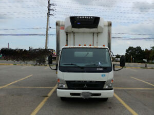 2009 Mitsubishi Fuso FE180 Diesel 16' Box Truck w/ refrigeration