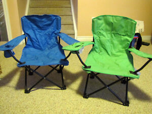 Children's camp chairs