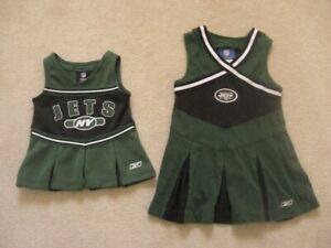 New York Jets NFL Baby And Toddler Dresses