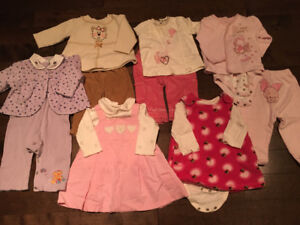Girl fall/winter clothing 6 months #1