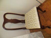 chaise de bureau ou de coiffeuse laquée