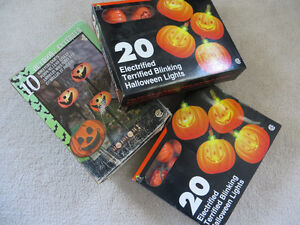 HALLOWE'EN LIGHTS AND LAWN STAKES