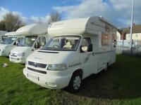 Compass Calypso two berth motorhome with AUTOMATIC gearbox