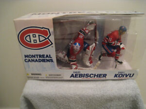NHL Mcfalane 2 Pack Montreal Canadiens Sports Action Figure Toy