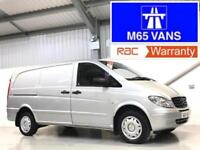 MERCEDES-BENZ VITO 48,000 LOW MILEAGE 2.1CDi 109 LWB LONG WHEELBASE SILVER