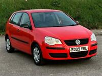 2009 Volkswagen Polo 1.2 E 60 5dr HATCHBACK Petrol Manual
