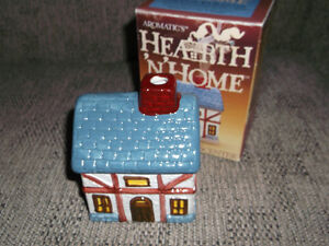 Ceramic House Incense Burner