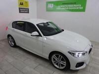 WHITE BMW 1 SERIES 2.0 120D M SPORT ***FROM £63 PER WEEK***